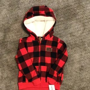 Boys plaid jacket